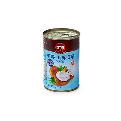 קרם קוקוס אורגני